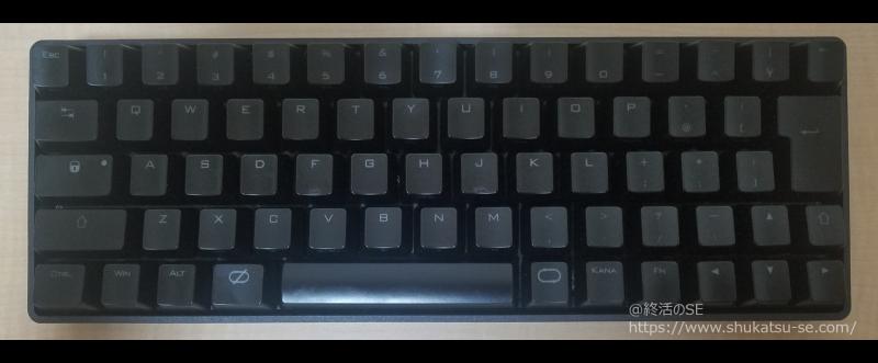 CENTURY BLACK PAWN CHERRY黒軸キーボード正面