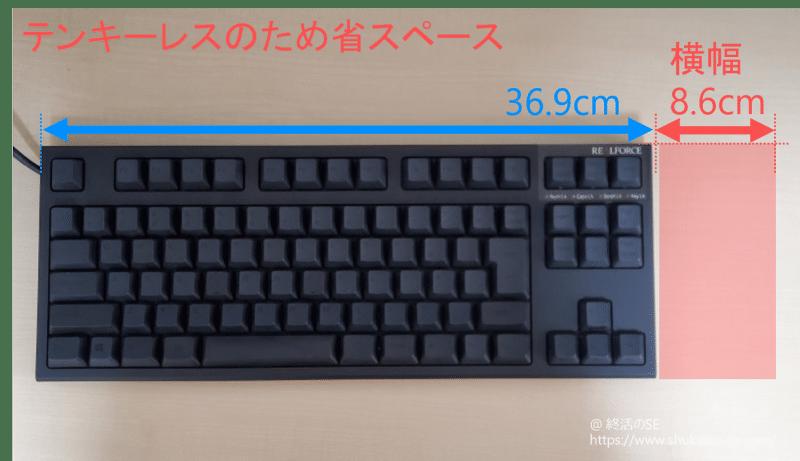 東プレ リアルフォース PFU Limited Edition キーボードテンキーレス分省サイズ