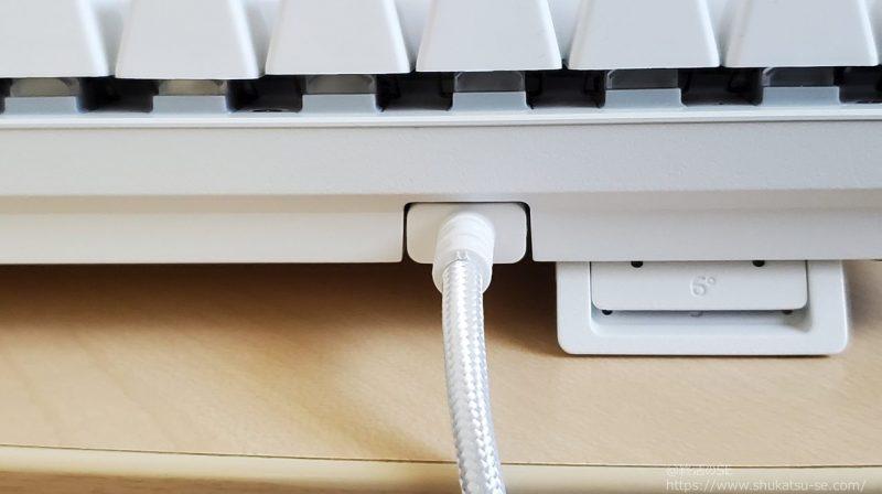 Razer Huntsman Mini  キーボードの着脱式USBケーブル