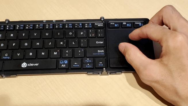 iClever Bluetooth キーボード IC-BK08のズームイン、ズームアウト