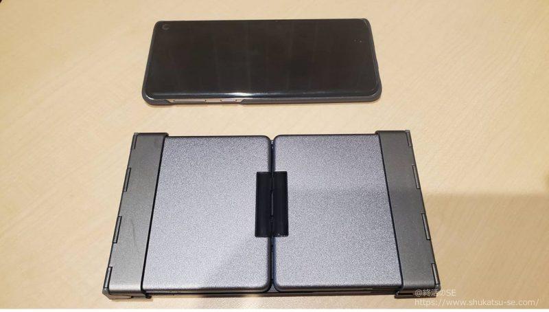 iClever Bluetooth キーボード IC-BK08をGalaxyS10と比較