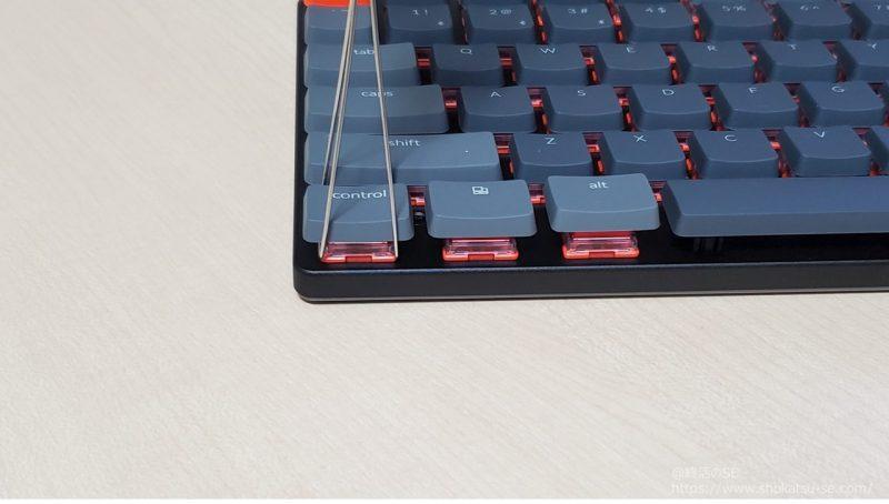 Keychron K3 Version2 キーキャップ取外し