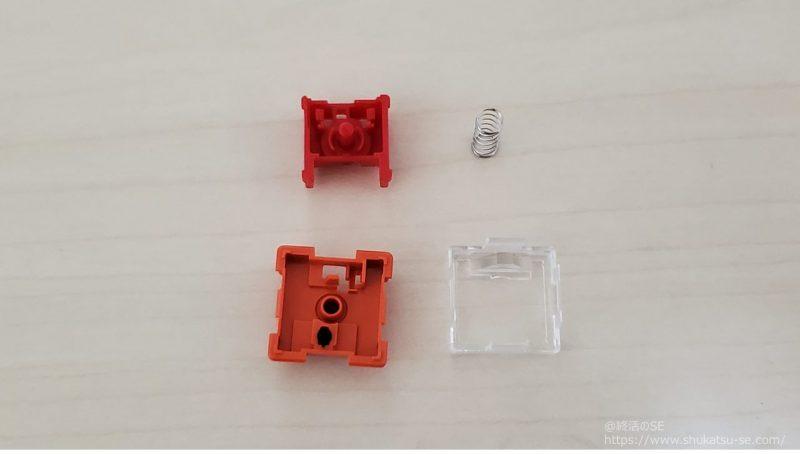Keychron ロープロファイル Keychronオプティカルスイッチ赤軸